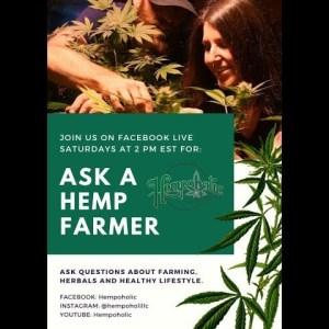 Ask A Hemp Farmer Facebook Live Episode #1