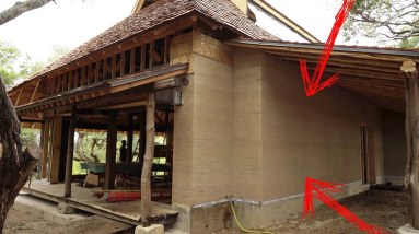 Hemp Concrete Walls (R30 + Fireproof) - You Won't Believe How They Built This House!