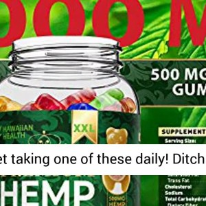 Hemp Gummies Premium XXL 30000 MG High Potency - 500 Per Fruity Gummy Bear with Hemp Oil - REVIEW