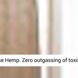 Organic Hemp Shower Curtain Full Size - REVIEW