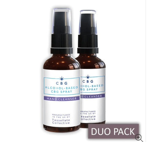 New CBD Hand Sanitiser Offer at Tessellate Collective