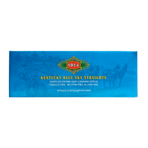 Bhang hemp preroll 1914 Straights carton top