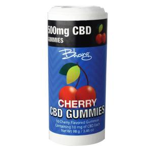bhang gummies cherry tube