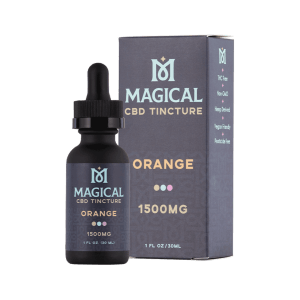 Magical CBD Tincture 1500mg Orange
