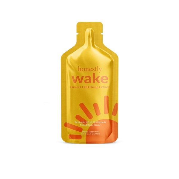 honeslty Wake Hemp Extract Liquid Gel