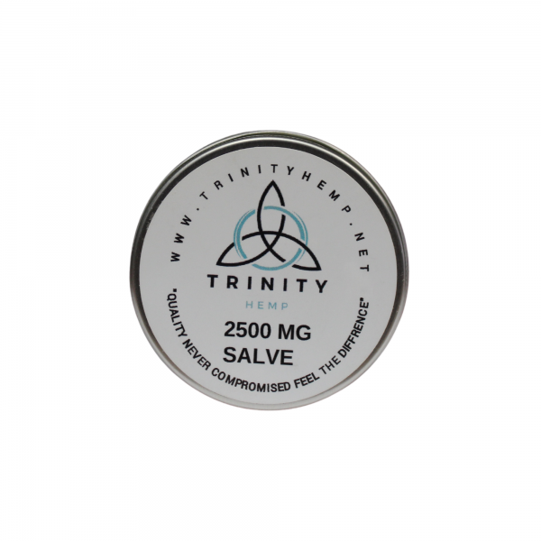 Trinity Hemp THC Free Salve 2500mg 2