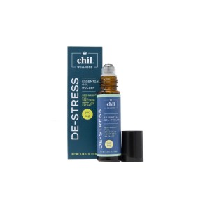 Chil Wellness De Stress Essential Oil Roller 300mg 3