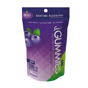 Sensi CBD Bedtime Blueberry Melatonin 200mg