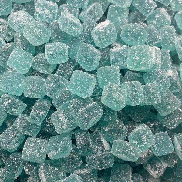Healing Haven Apothecary Delta 8 Gummies Sour Blue Razz