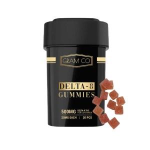 GramCo Delta 8 Gummies 500mg