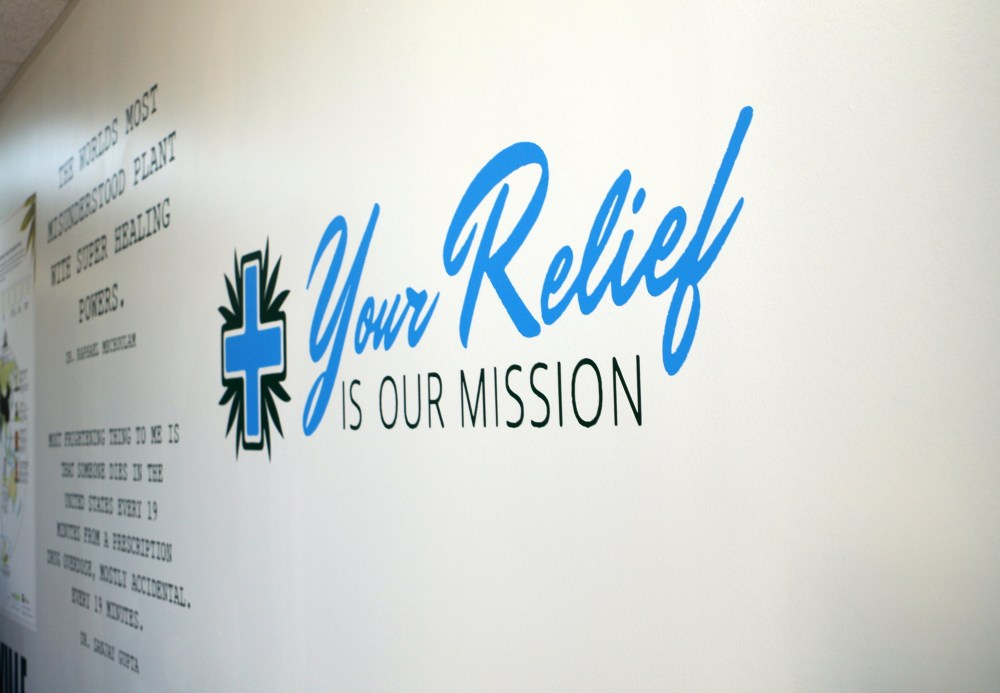 Your Relief is Our Mission