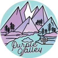 Purple Valley CBD Oil Logo