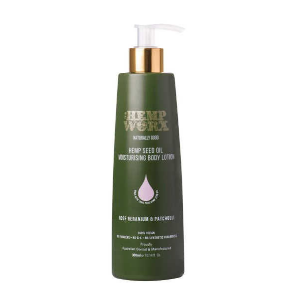 Hempworx Rose Geranium Patchouli Body Lotion