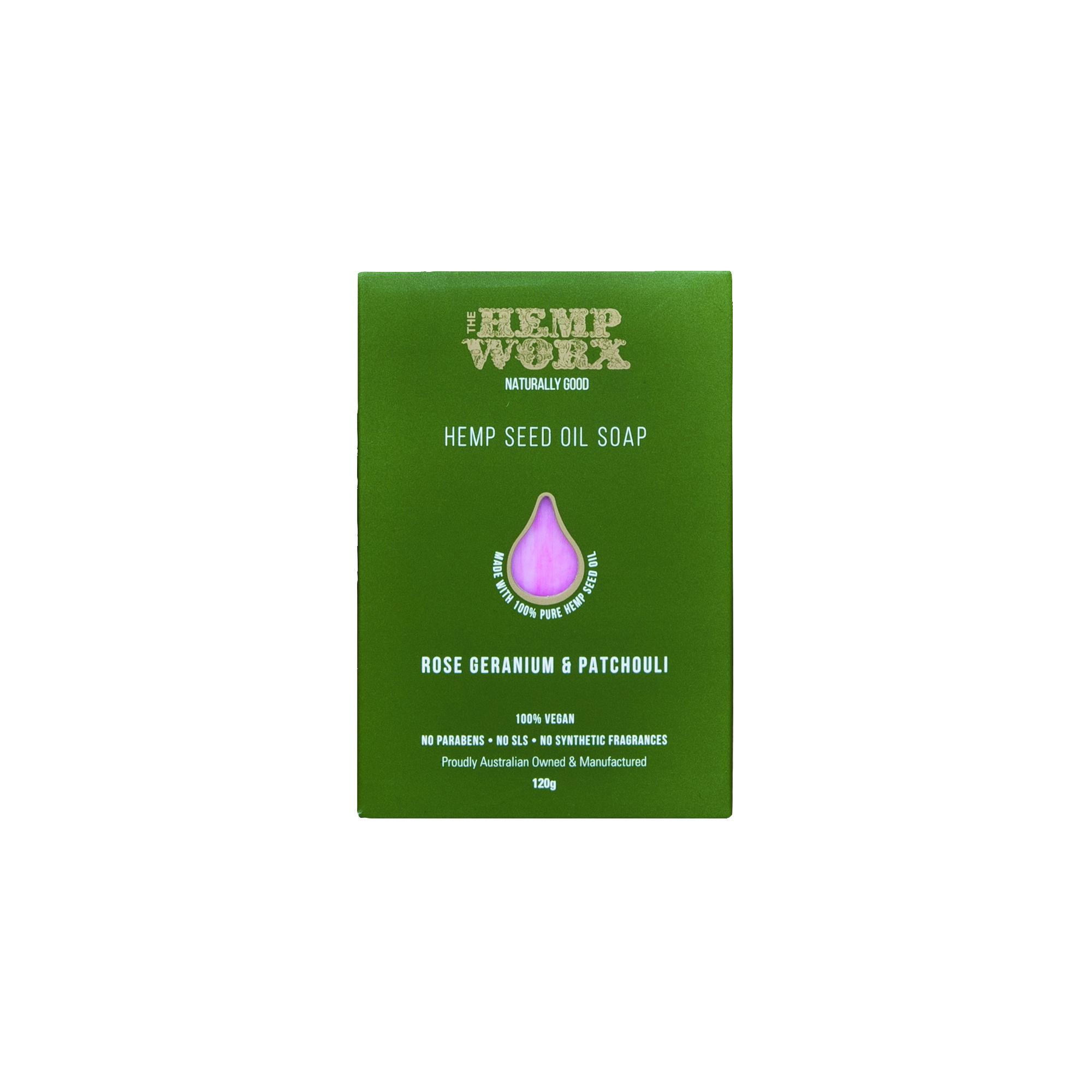 Hempworx-Rose-Geranium-Soap