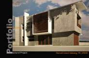 Unfinished house in sleman