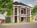 Rumah luas 300 m2 type Sudut