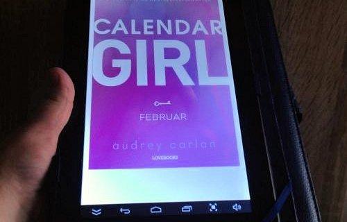 """""""Calendar girl: Februar"""" af Audrey Carlan - boganmeldelse Jensens bogblog"""