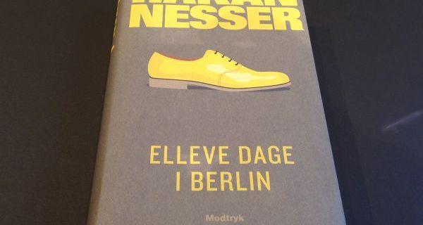 """Boganmeldelse """"Elleve dage i Berlin"""" af Håkan Nesser"""