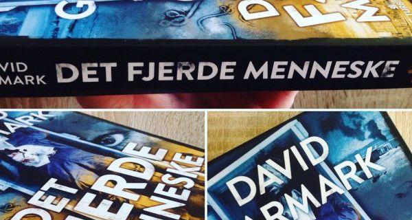 """Give-away #2 - """"Det fjerde menneske"""" af David Garmark - sponsoreret af Turbine - Bogfinken bogblog"""
