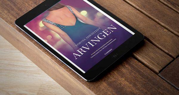 """#Fredagsbog - uge 31 - Bogfinken Bogblog - """"Arvingen"""" - Simona Ahrnstedt - boganmeldelse"""