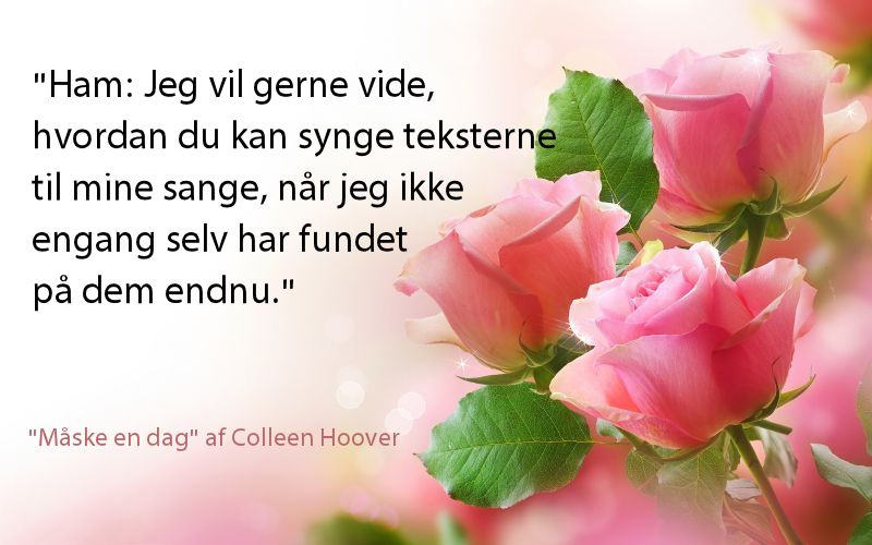 """Read-along med Lovebooks: """"Måske en dag"""" af Colleen Hoover"""