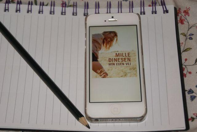 """""""Min egen vej"""" af Mille Dinesen - boganmeldelse - Bogfinkens bogblog"""