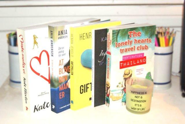 Oktober måned nyanskaffelser - nyt i stakken #5 - Bogfinken bogblog