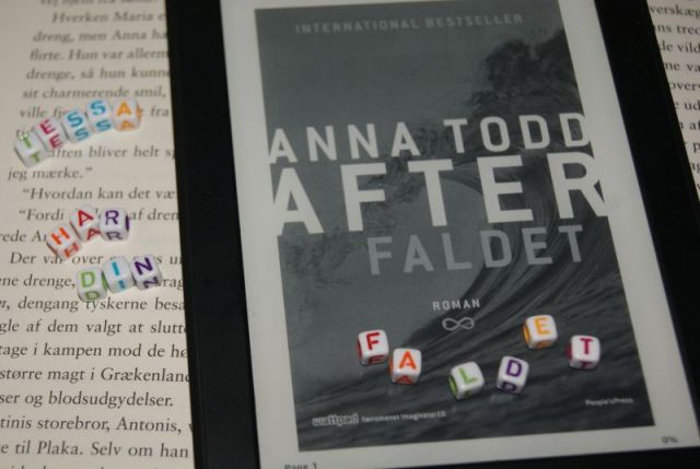 Faldet (After #3) af Anna Todd - boganmeldelse - Bogfinken bogblog