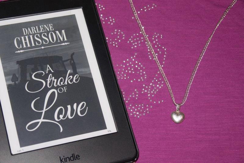 """""""A Stroke of Love"""" af Darlene Chissom - Bogfinkens bogblog"""