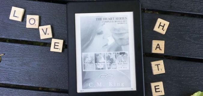 I Carry Your Heart (Heart #1) af C.M. King - Bogfinkens bogblog