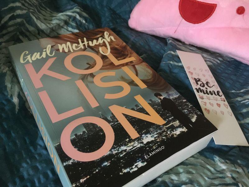 Kollision af Gail McHugh - Bogfinkens bogblog