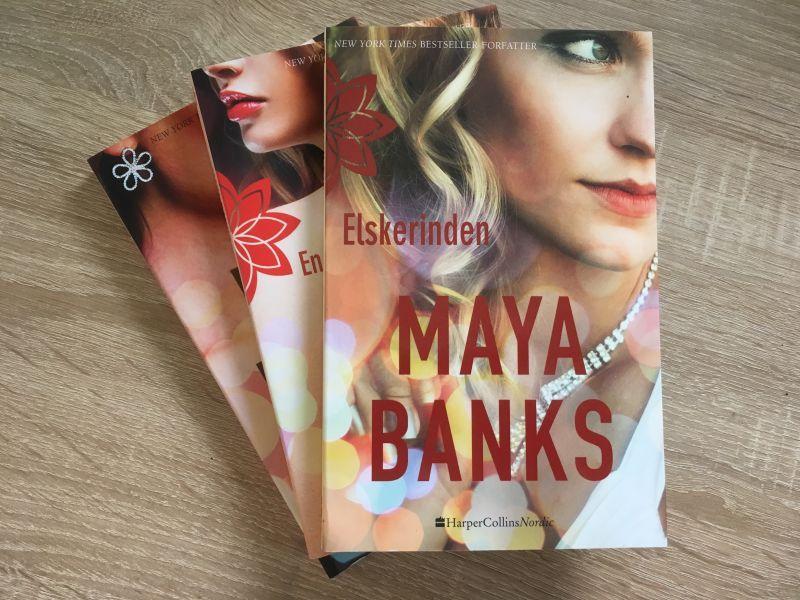 Elskerinden af Maya Banks - Bogfinkens bogblog