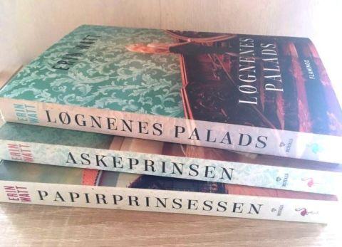 Løgnenes palads af Erin Watt - Bogfinkens bogblog