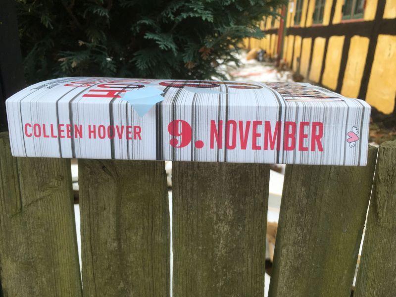 9. november af Colleen Hoover - Bogfinkens bogblog