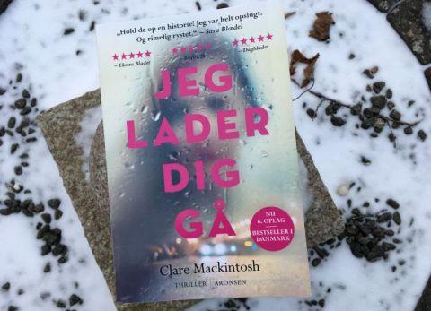 Jeg lader dig gå af Clare Mackintosh - Bogfinkens bogblog
