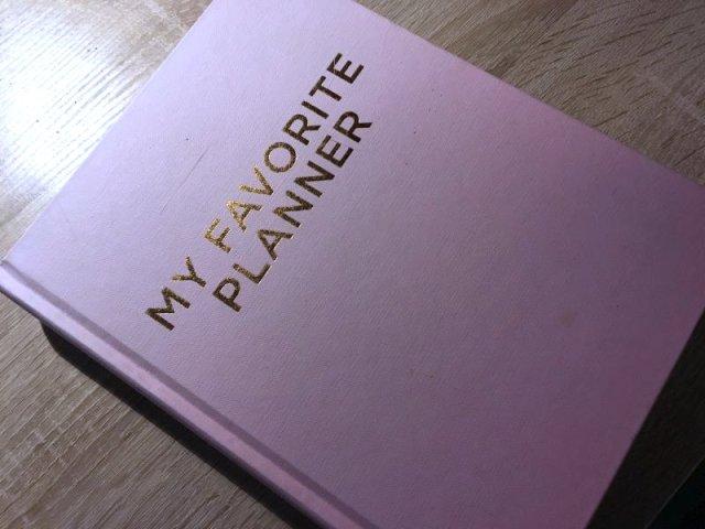 MY FAVORITE PLANNER af Sussanne Wexø, Forlaget Aronsen - Bogfinkens bogblog