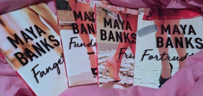 Forretningsmand og far (serie) af Maya Banks - Bogfinkens bogblog