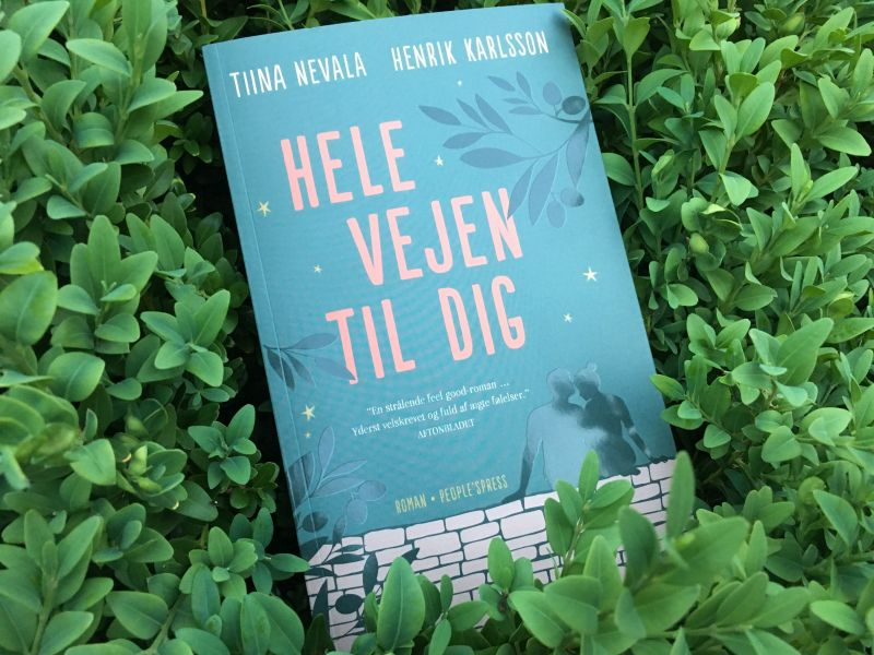 Hele vejen til dig af Henrik Karlsson, Tiina Nevala - Bogfinkens bogblog