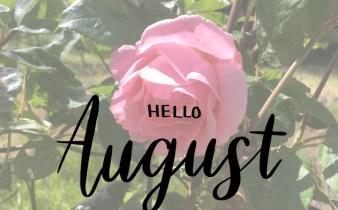 Farvel juli - velkommen til august! Bogfinkens bogblog
