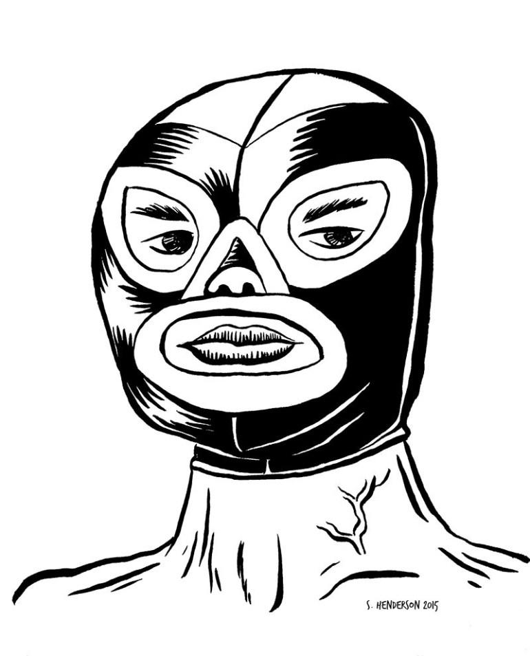 INKTOBER 2015 - Luchador_9
