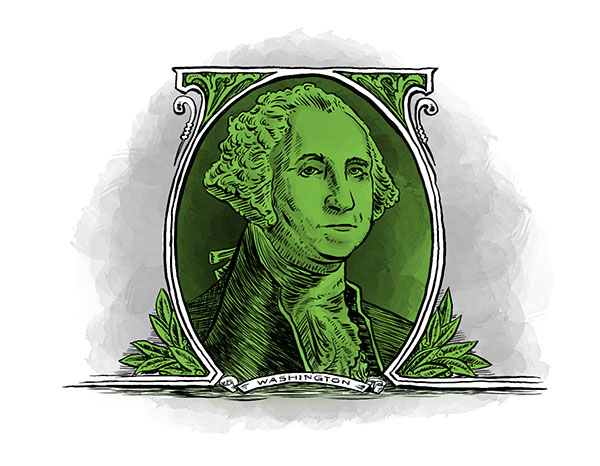 George Washington vignette