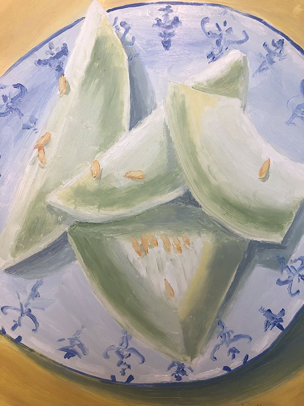 Honeydew Oil Painting