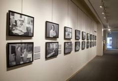 Paul Henderson exhibition, MdHS, February 2012. Photo by James Singewald.