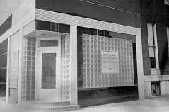 Storefront. Unidentified delicatessen, opening soon. Wilson Street and McCulloh Street, Baltimore, circa 1949. Paul Henderson, HEN.00.B1-101.