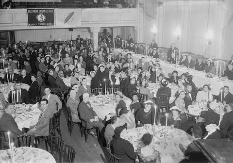 Baltimore Urban League banquet. Paul Henderson, ca. 1951. MdHS, HEN.00.A2-210.