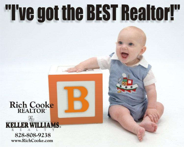 Get the best Realtor for all your Western North Carolina real estate by contacting Rich Cooke today!
