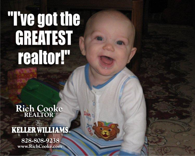 Use Rich Cooke for all your Western North Carolina real estate needs.