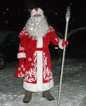 Изготовление посоха для Деда Мороза