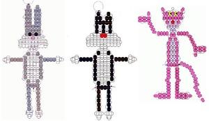 Плетения фигурок животных из бисера