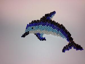 Плетение фигурки дельфина